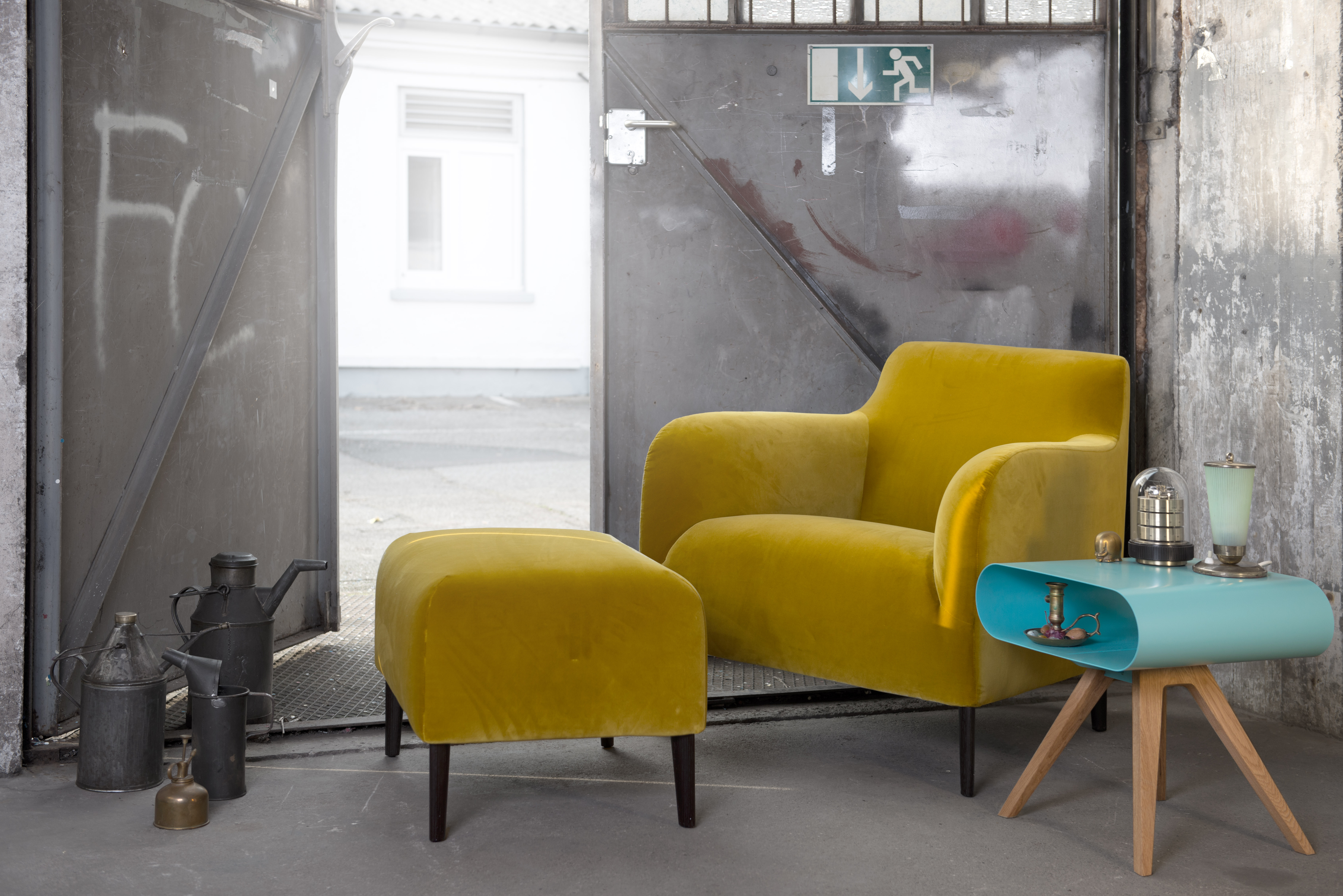 Trendletter imm cologne one colour never stands alone for Interieur garage