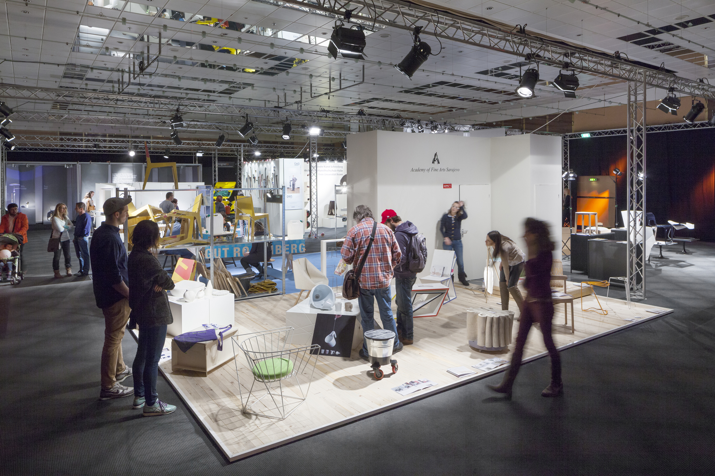 Trendletter imm cologne stunde null mit pure one for Interior design courses information